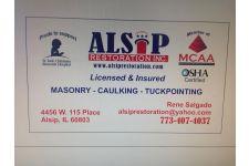 Logo for Alsip Restoration