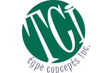 Logo for Type Concepts, Inc
